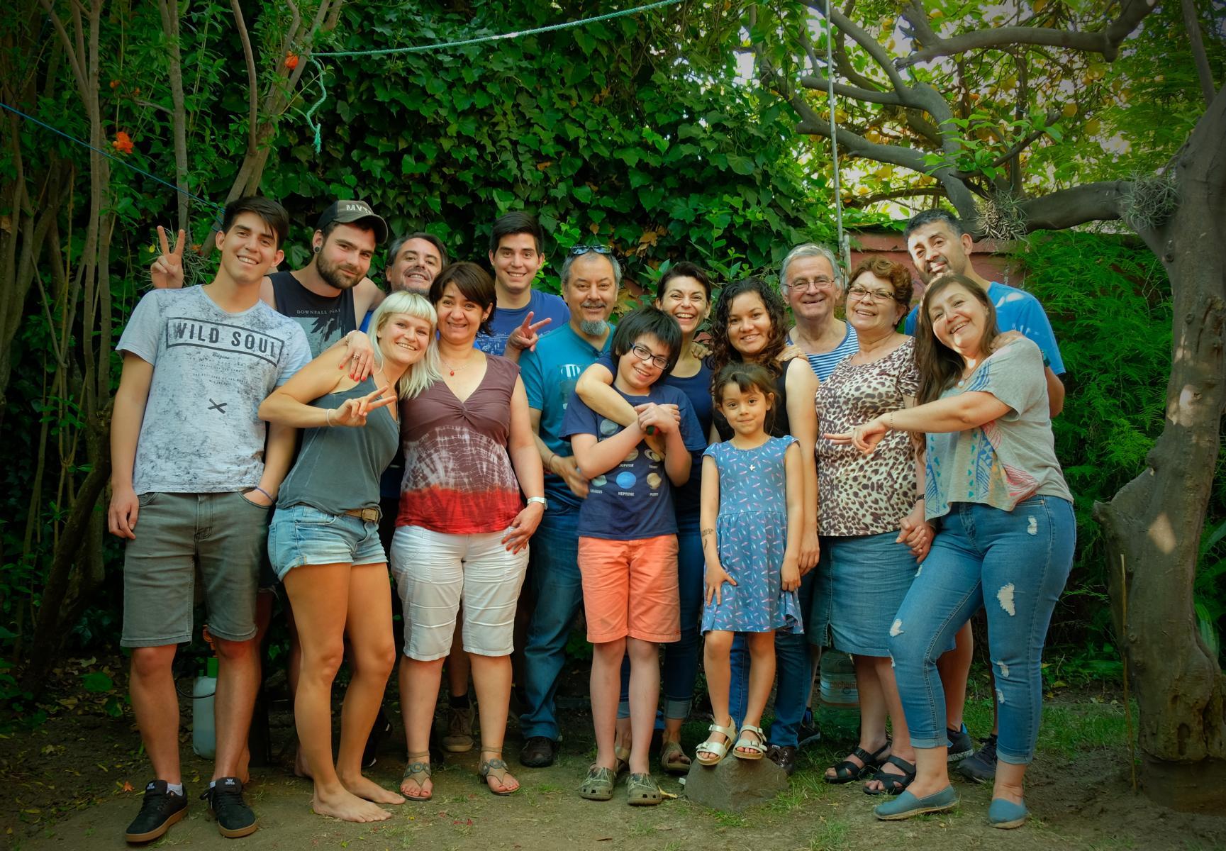 La familia de Chile